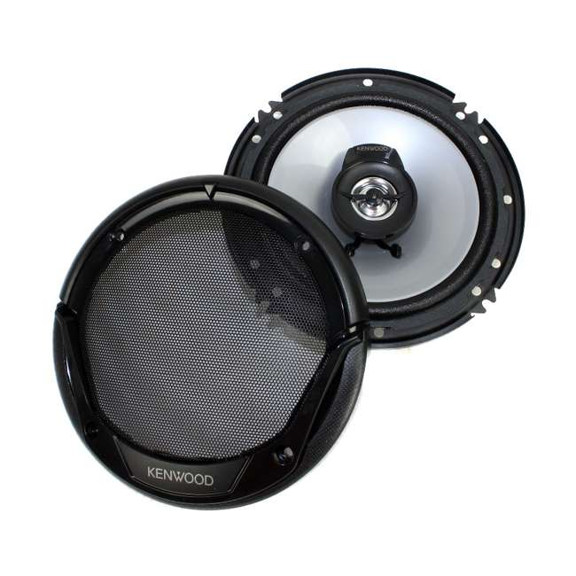 KFC-1666S Kenwood KFC-1665S 6.5-Inch 300W Speakers (4-pack) 9