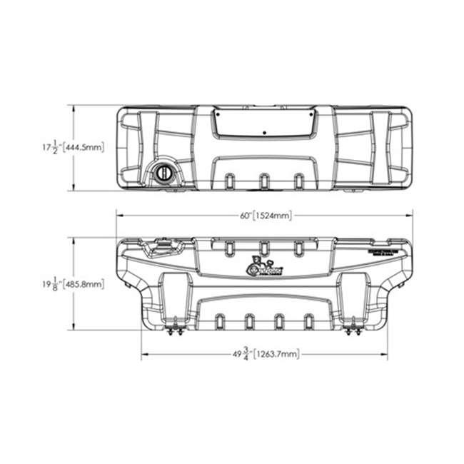 5410050 Titan Trail Trekker 50-Gallon Auxiliary Fuel System 1
