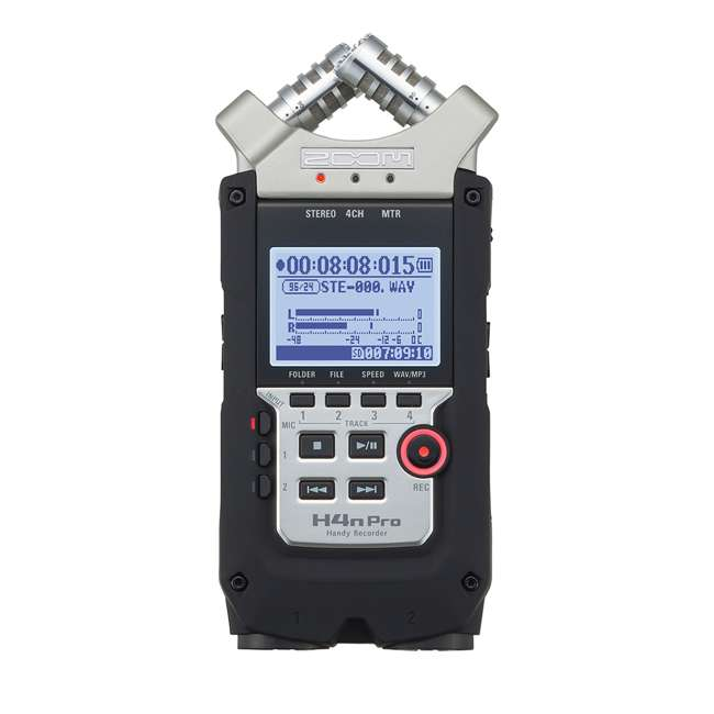 ZH4NPRO + TH02-B + SD4-16GB-SAN Zoom H4n Pro Digital Multitrack Recorder + TASCAM Headphones + Memory Card 1