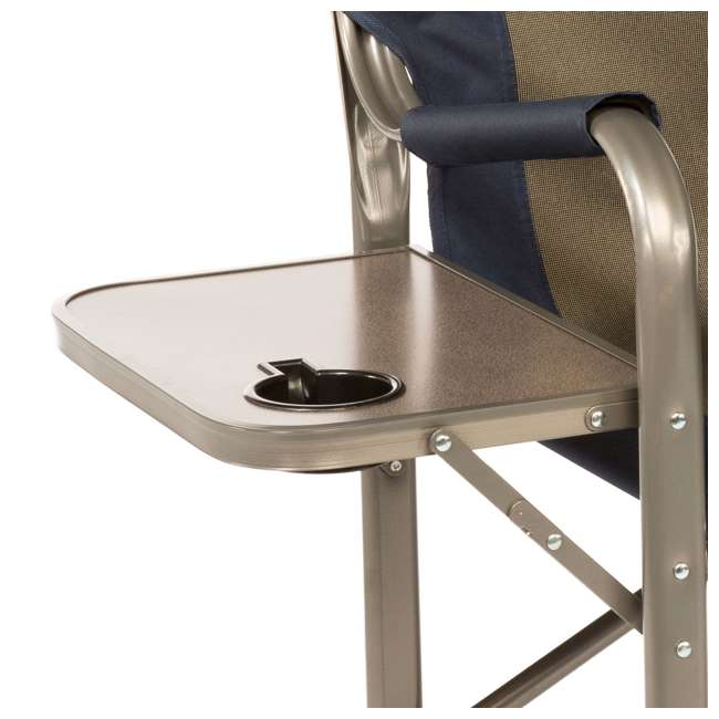 4 x CC105 Kamp-Rite Folding Director's Chair with Side Table (4 Pack) 3