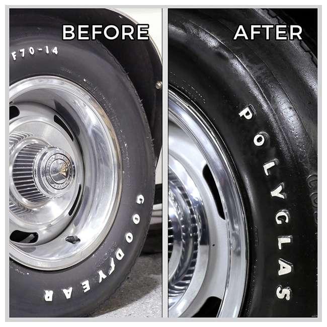 33532 TriNova 33532 Car Tire Shine and Protection Coating Wet Finish Spray, 1 Gallon 1