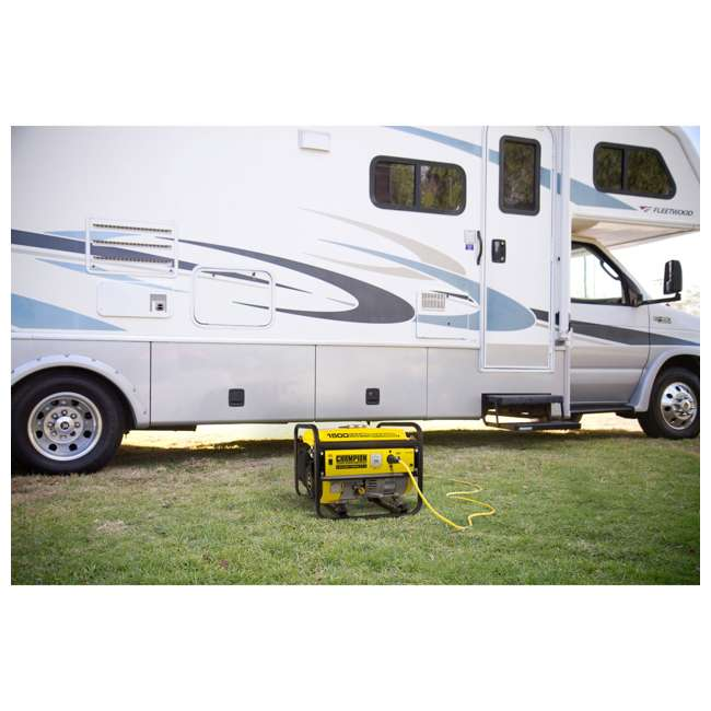 CPE-GN-42436-U-C Champion 1200 Watt Recoil Start Gas Powered Home & RV Generator (For Parts) 3