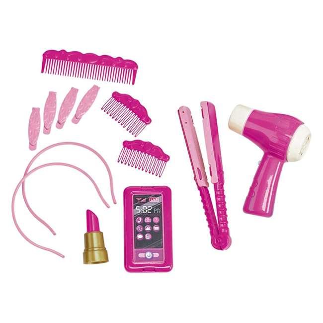 APT-24000 American Plastic Toys Kids Very Own Pink Deluxe Vanity Playset with Mirror  2