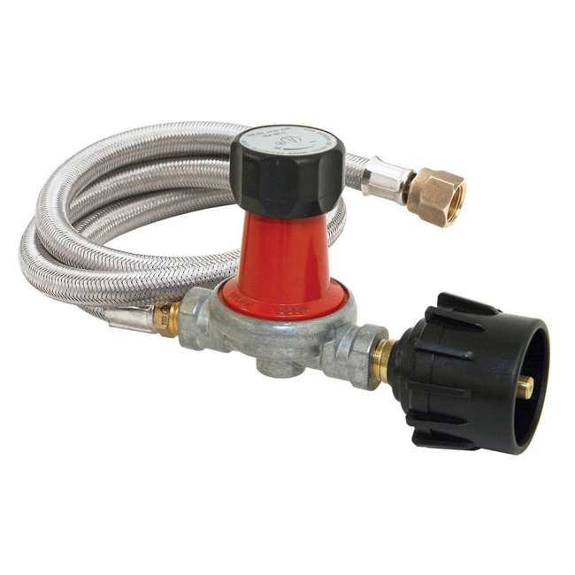 M5HPR-30 Bayou Classic 30 PSI Adjustable Regulator w/ 48 In Outdoor Cooker Propane Hose