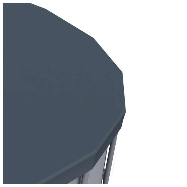 6 x 58039E-BW-U-A Bestway 18' Round PVC Pool Debris Cover for Steel ProTM Frame (Open Box)(6 Pack) 3