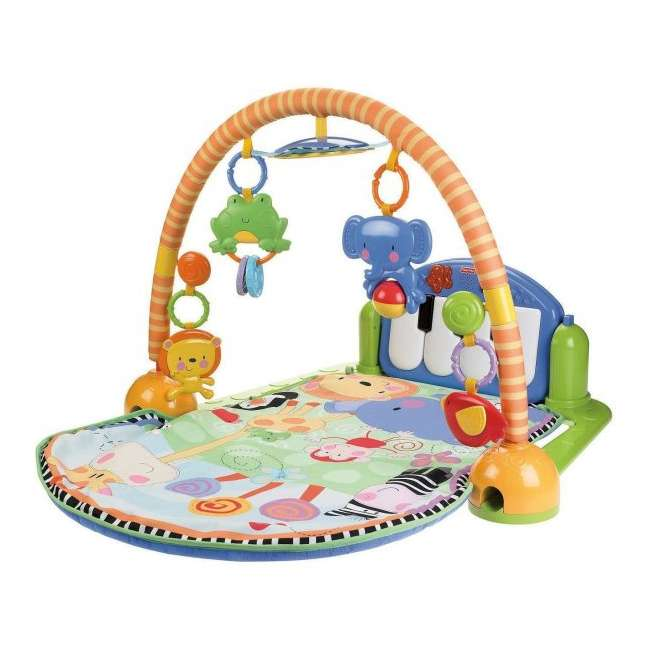 W2621 Fisher Price Kick & Play Piano Muscial Gym