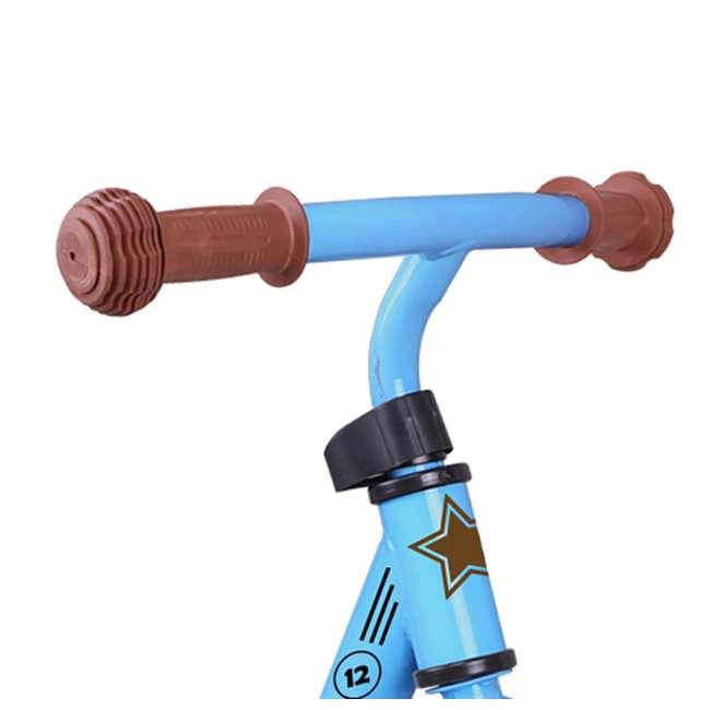 BIKE055bl Joystar Roller 12 Inch Kids Toddler Training Balance Bike Bicycle, Ages 2 to 4 2