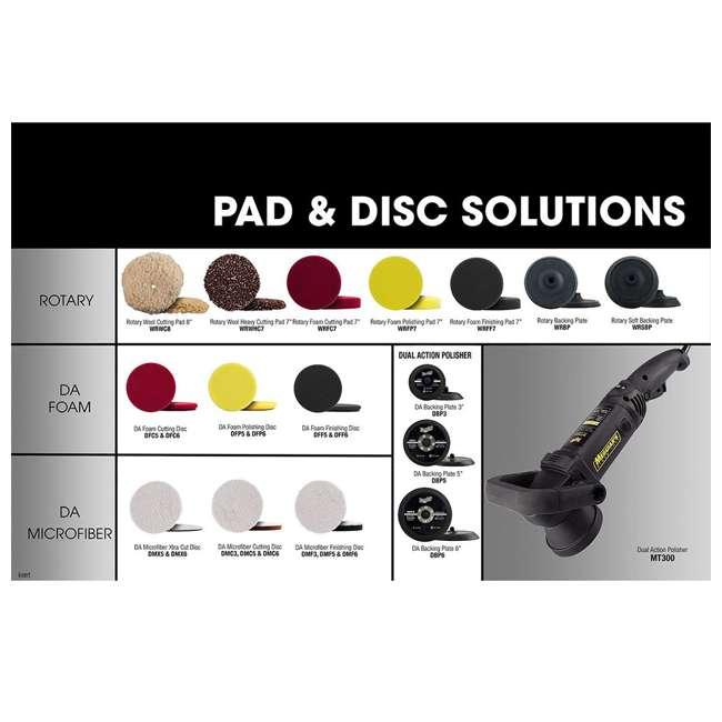 "DFP6 Meguiar's Soft Buff 6"" Dual Action Foam Polishing Disc  (2 Pack) 5"