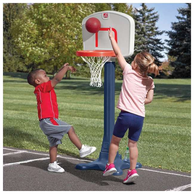 865600 Step2 Shootin' Hoops 42 Inch Junior Basketball Set 3