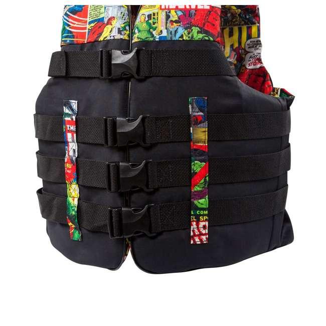 MAR17243LXL Body Glove Marvel Method Life Jacket Vest, Large/X-Large (2 Pack) 2