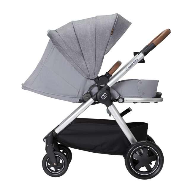 CV371ETL Maxi-Cosi Adorra Forward or Rear Facing Modular Folding Stroller, Nomad Gray 1