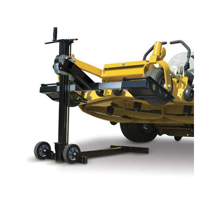 MJ00150-MJXT-U-B MoJack UPC Flat Folding 500lb Capacity Riding Lawn Tractor Mower Lift Jack(Used) 3