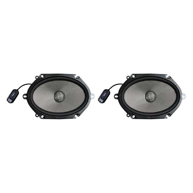 Infinity Kappa 680 9CS 6x8-Inch 270 Watt 2-Way Car Audio Speakers