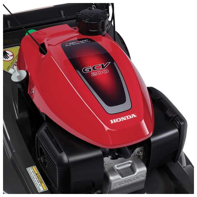 HRX217K6HYA Honda HRX217K6HYA 21 Inch 4 In 1 Versamow System Gas Walk Behind Lawn Mower, Red 6