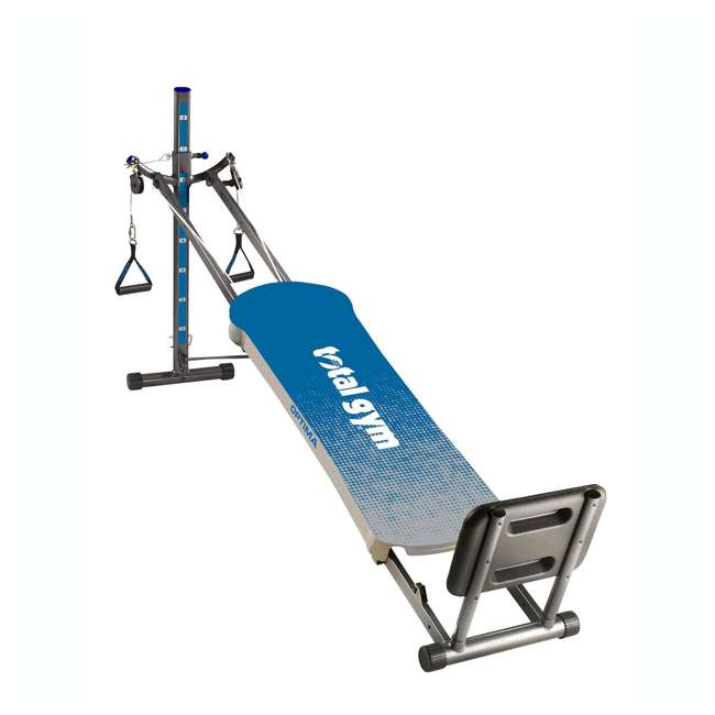 ROPTIMACAT Total Gym Full Body Workout Home Fitness Folding Exercise Row Machine (2 Pack) 1