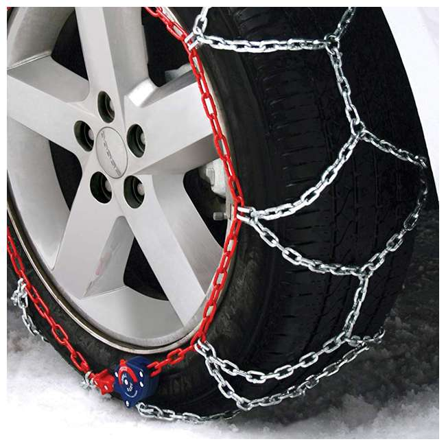 0231805-U-A Auto-Trac 2300 Series Tightening and Centering Snow Tire Chains (Open Box) 2