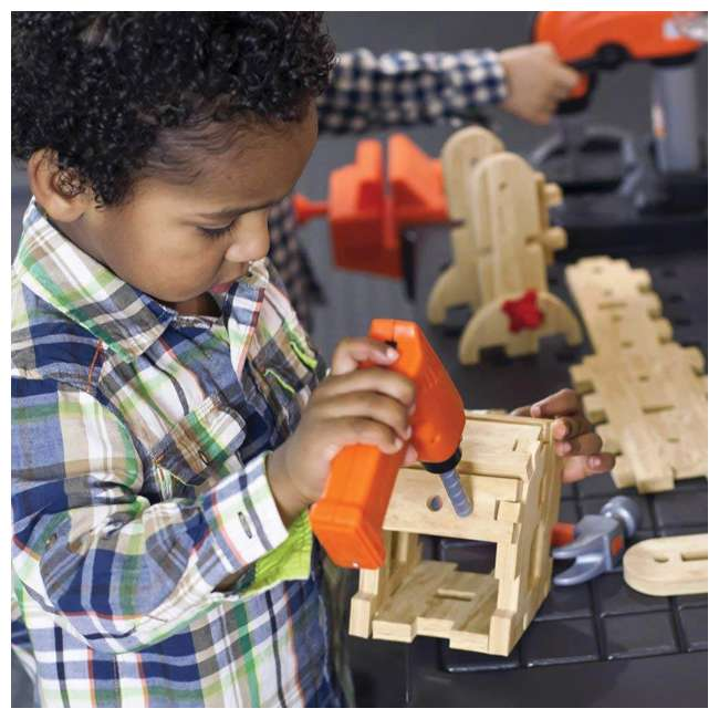 489099 Step2 Pro Play Kids Workshop and Utility Bench 3