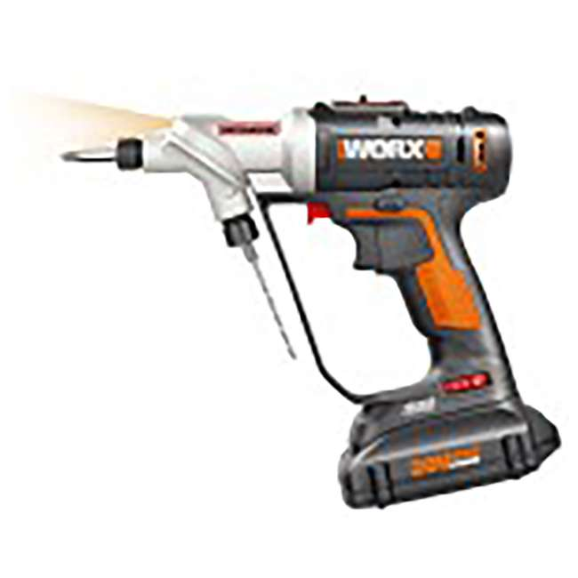 WX176L Worx Switchdriver 2-in-1 Electric Cordless Drill and Driver  1