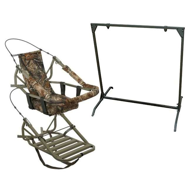 81052-VIPCLASSIC + HME-BTS Summit Viper Classic Treestand & HME Products 30 Inch Target Stand