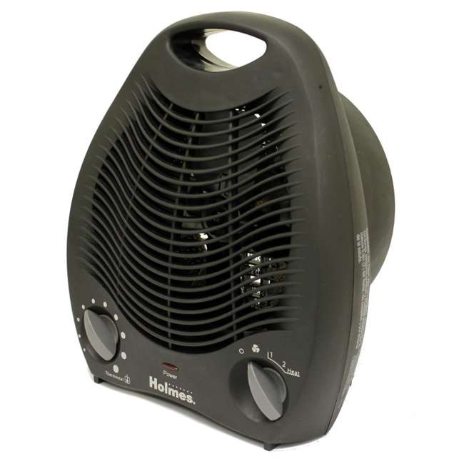 HFH108B-UM Holmes Compact Space Heater with Adjustable Thermostat HFH108B 1