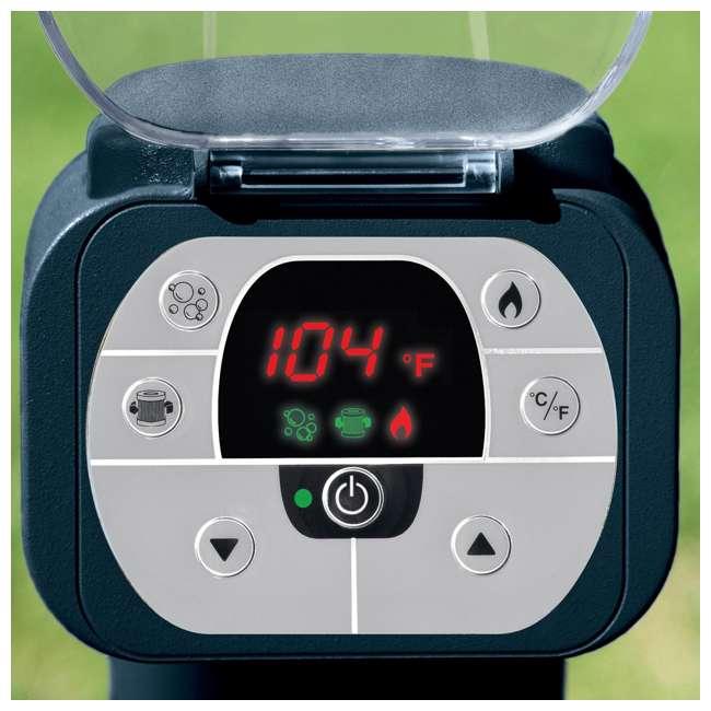 28405E + 28004E + QLC-14890 Intex Pure Spa 4-Person Home Inflatable Hot Tub, Accessory Kit, & Chemical Kit 8