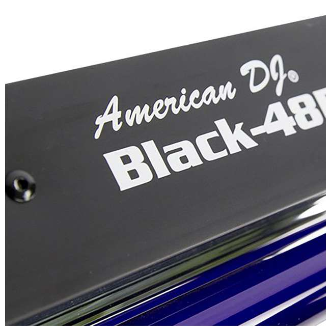 VF1300 + BLACK-48BLB American DJ 2.3 L Tank Mobile Fog Machine w/ Remote Controls & 48in Black Light 8
