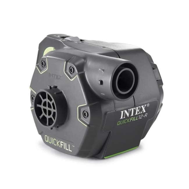 66641E + 66803EP Intex 120V Cordless Electric Air Pump Intex Kidz Inflatable Air Mattress w/ Bag 5