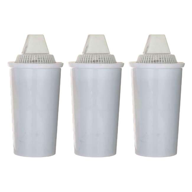 3 x 796515300413 New Wave Enviro Alkaline Water Filter Replacement Cartridge, White (3 Pack)