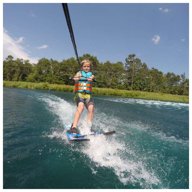 61190310-CON CWB Connelly Cadet Kids Combo 45 Inch Water Sports Skis 4