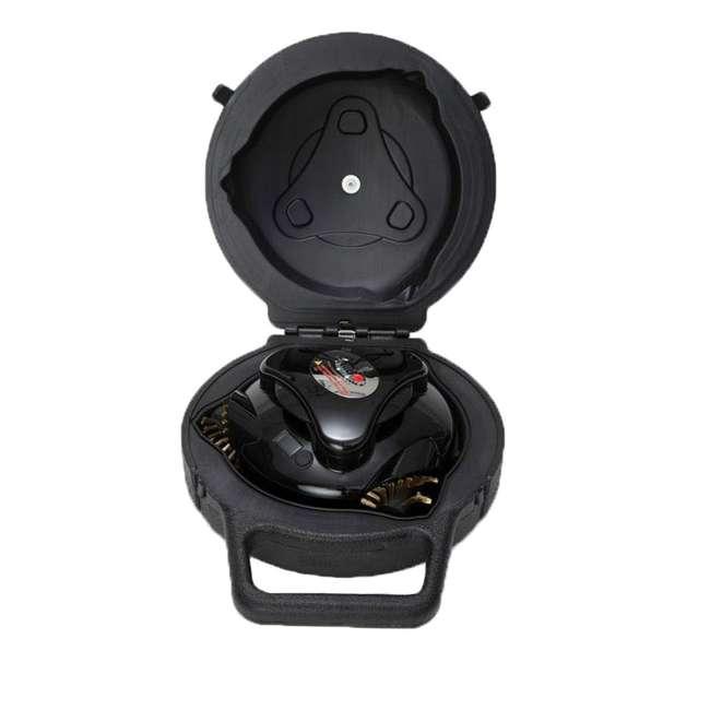 GBU:BUN3:BLACK Grillbot GBU:BUN3:BLACK Automatic Grill Cleaning Robot with Carry Case, Black 1