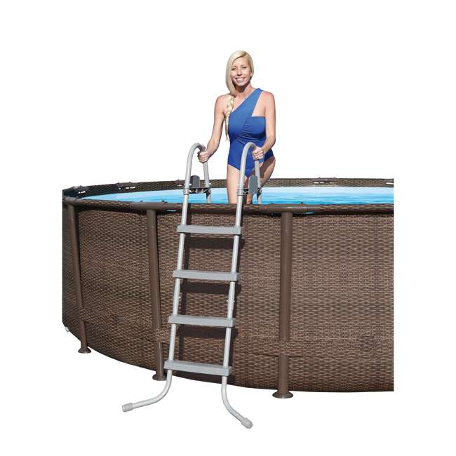 Bestway 16 X 48 Quot Power Steel Frame Above Ground Pool Set