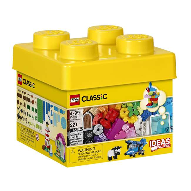 3 x 6101959 LEGO Classic Small Creative Set (3 Pack)