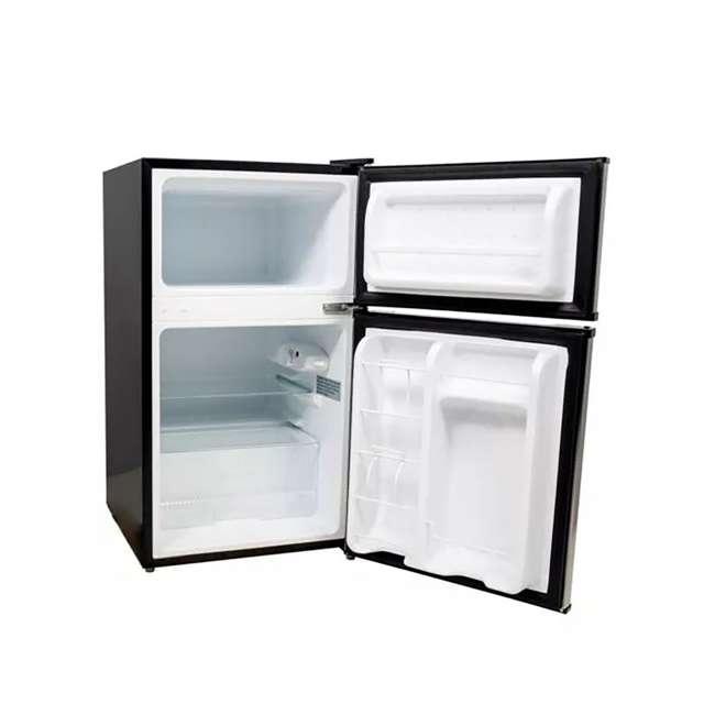 CRF321SS EdgeStar 19 Inch Wide 3.1 Cubic Feet Small Beverage Mini Fridge Freezer (2 Pack) 3