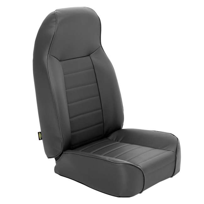44915-SMITTYBILT Smittybilt Front Standard Bucket Seat, Black Denim