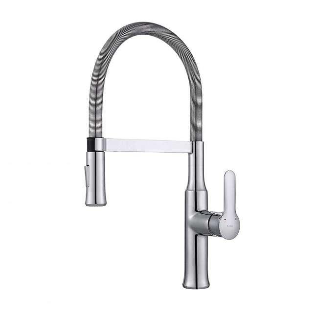 KPF-1640CH Kraus Nola Single Lever Pull-Down Kitchen Faucet, Chrome