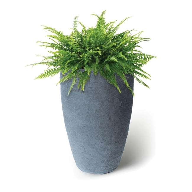 "ALG-87301-U-A Algreen Athena 20.5"" x 12.6"" Self Watering Plastic Planter (Open Box) 1"