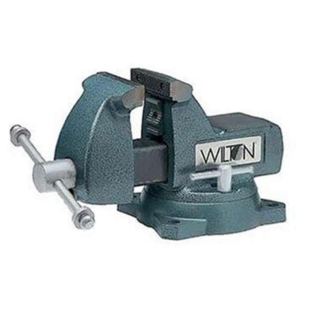 """WIL-21400 Wilton 21400 Model 745 5"""" Jaw Width 3-3/4"""" Throat Depth Mechanics Vise W/ Swivel Base"""