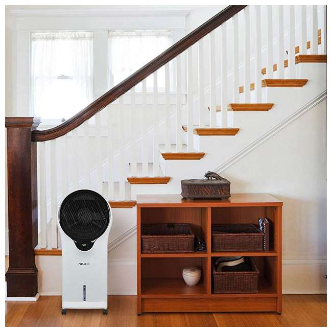 EC111W NewAir Portable Air Conditioner Evaporative Cooler Tower Fan with Remote, White 5