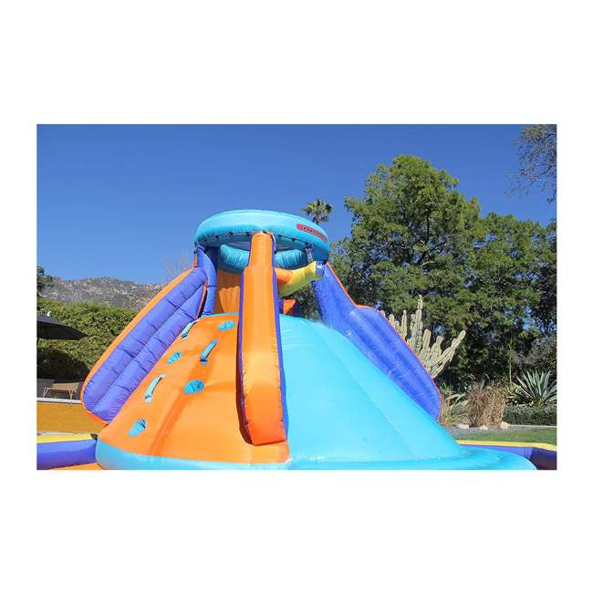 INF-1811  Battle Ridge Water Slide Inflatable with Water Cannons 3