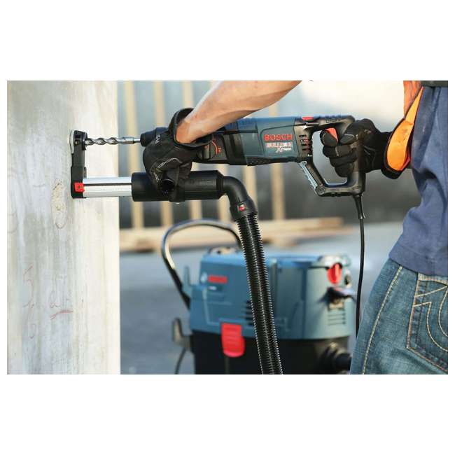 "11255VSR Bosch Bulldog Xtreme 1"" SDS-plus D-Handle Rotary Hammer (Refurbished, Open Box) 3"