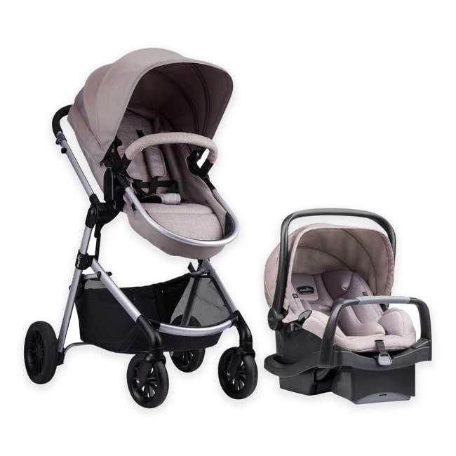 56011993 Pivot Stroller & Car Seat Travel System, Sandstone