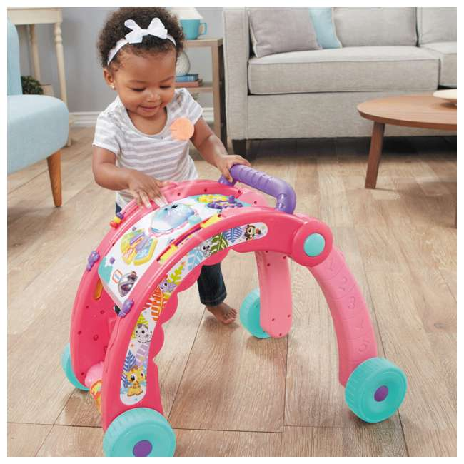 643095-U-A Little Tikes Light 'n Go 3-in-1 Baby Activity Table & Walker Toy, Pink(Open Box) 2
