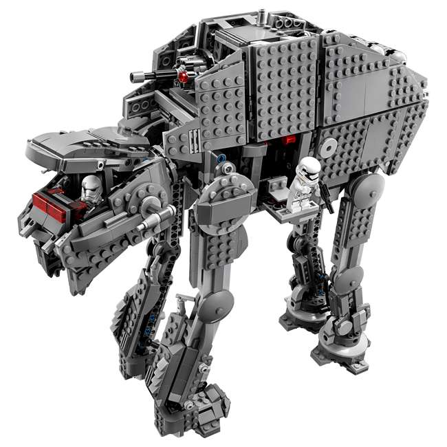 6224296 LEGO Star Wars First Order Heavy Assault Walker Building Kit with 5 Minifigures 2