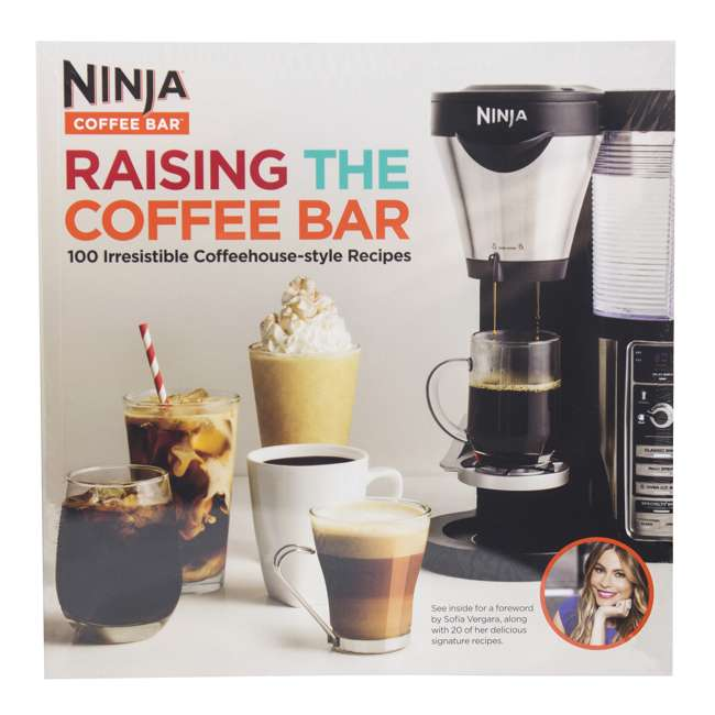 CF020 + CBCF080 + 2 x CF14HOMEW Ninja Coffee Brewer + Recipe Book + 14-Ounce Cup (2 Pack) 7