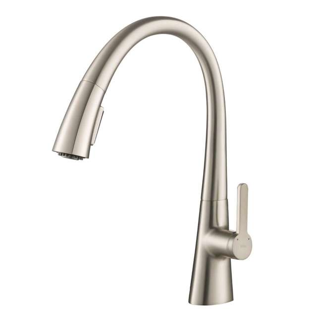 KPF-1673SFS-U-A Kraus Single Handle Pull Down Kitchen Sink Faucet Stainless Steel (Open Box)