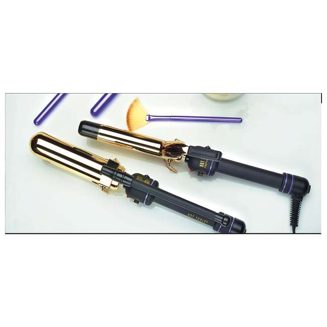 1110V81 Hot Tools Professional 1 1/4-Inch 24K Gold Curling Iron 3