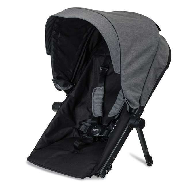 U911928 + S03634300 + S934000 Britax B Ready G3 Folding Baby Stroller, Snack Tray, and Second Seat Conversion 4