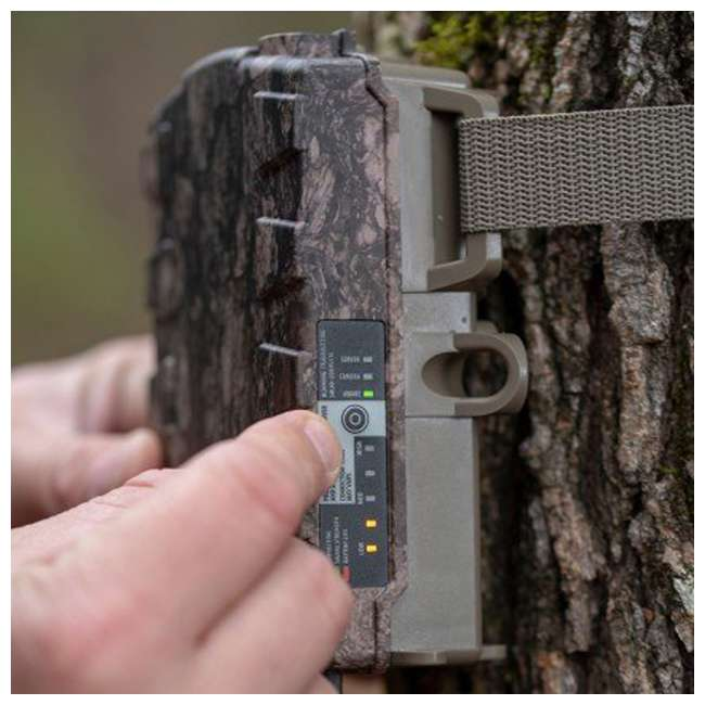MCA-13300 Moultrie Mobile MV2 Verizon 4G Wireless Cellular Game Trail Camera Field Modem 1