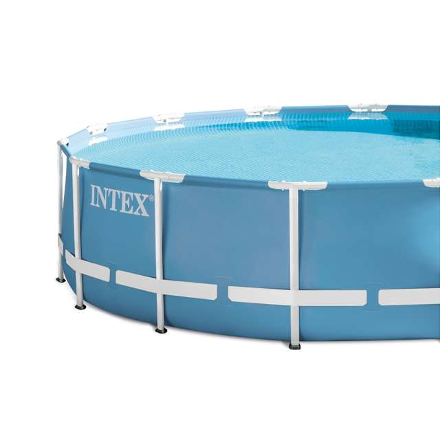Intex 15 39 x 33 prism frame above ground pool set 28721eh for Above ground pool set