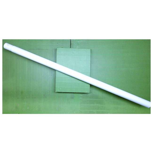 4 x 12157-Vertical-Leg Intex 12157 Vertical Leg for 18X48in Metal Frame Pool (New Without Box) (4 Pack) 1